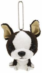 ボストンテリア Boston Terrier ぬいぐるみマスコットボールチェーン Too Sweet イヌ アニマル通販 シネマコレクション