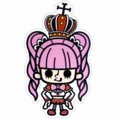 ワンピース×パンソンワークス ゴーストプリンセス ペローナ Bigステッカー アニメキャラクターグッズ通販 メール便可