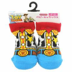 トイストーリー ウッディコスチューム ベビーソックス 新生児靴下 ディズニー赤ちゃんくつした通販
