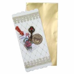 Xmas クリスマス レ・ペタル タグ&カギ ミニカード 封筒付きギフトメッセージカード通販 メール便可