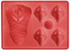 エヴァンゲリヲン新劇場版 使徒 シリコンアイストレー(製氷皿)ゼリーやチョコの型に