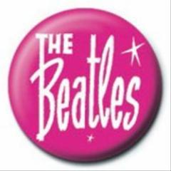 The BEATLES ビートルズ PINK 1インチ缶バッジ サブカルファッショングッズ通販 メール便可