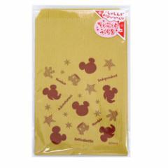 ミッキーマウス シルエット ちょこっと袋10枚入り 小分け袋 ディズニーキャラクターラッピング用品通販 メール便可