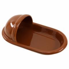 衝撃!!和式便器の形のカレー皿 陶器製 うんちの色バージョン 面白食器ギフト通販