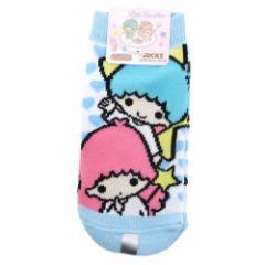 リトルツインスターズ キキ&ララ ハート キッズソックス サンリオキャラクターグッズ 子供用靴下 通販 メール便可