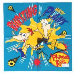 フィニアスとファーブ バースティング ランチクロス ナフキン ディズニーキャラクターグッズ メール便可