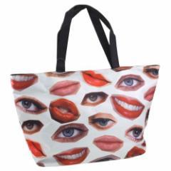 FACE PARTS/目&唇 フォトトートバッグ お洒落で可愛いレディース手提げかばん通販 /シネマコレクション