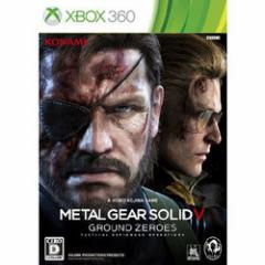 [100円便OK]【新品】【Xbox360】METAL GEAR SOLID V:GROUND ZEROES[お取寄せ品]