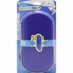 【新品】【PSVHD】PS VITA用 「セミハードケース スリム」(ブルー) PCH-2000対応[お取寄せ品]