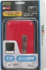 【新品】ニンテンドー3DS用EVAケース レッド SZC-3DS01R[在庫品]