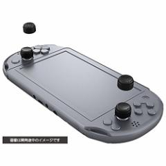 【新品】【PSVHD】CYBER・アナログスティックカバーHIGHタイプ ブラック(PS Vita用)[在庫品]