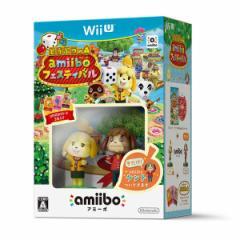 【新品】【WiiU】【限】どうぶつの森 amiiboフェスティバル ケント付き 限定版[在庫品]