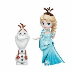 【新品】【TOY】リトルキングダム アナと雪の女王 エルサ&オラフ[お取寄せ品]