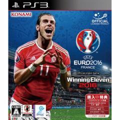 [100円便OK]【新品】【PS3】UEFA EURO 2016 / ウイニングイレブン 2016[お取寄せ品]