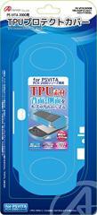 【新品】【PSVHD】PS VITA(PCH-2000)用TPUプロテクトカバー(ブルー)[お取寄せ品]
