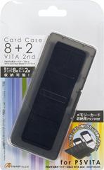 【新品】【PSVHD】PS VITA用カードケース8+2 VITA 2nd(ブラック)[お取寄せ品]