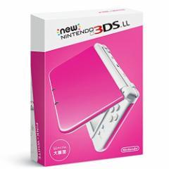 【新品】Newニンテンドー3DS LL ピンク×ホワイト【本体】[在庫品]