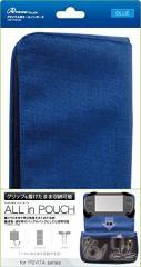 【新品】【PSVHD】PSVITA用オールインポーチ(ブルー)[お取寄せ品]