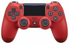 【新品】【PS4HD】ワイヤレスコントローラー(DUALSHOCK4) マグマ・レッド New[在庫品]