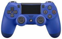 【新品】【PS4HD】ワイヤレスコントローラー(DUALSHOCK4) ウェイブ・ブルー New[在庫品]