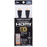 【新品】【PS4HD】CYBER・Premium HDMIケーブル 1.5m(PS4用)ブラック[お取寄せ品]