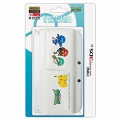 【新品】ポケットモンスター カードケース一体型カバー for Newニンテンドー3DS LL アローラ[お取寄せ品]