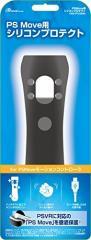 【新品】【PS4HD】PS Move用 シリコンプロテクト(ブラック)[お取寄せ品]