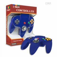 【新品】【N64】N64 Cirka Controller-Blue[お取寄せ品]