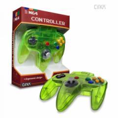 【新品】【N64】N64 Cirka Controller-Cyanie/J[在庫品]