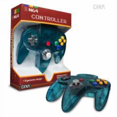 【新品】【N64】N64 Cirka Controller-Turquoise[お取寄せ品]