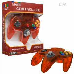 【新品】【N64】N64 Cirka Controller-Fire[お取寄せ品]