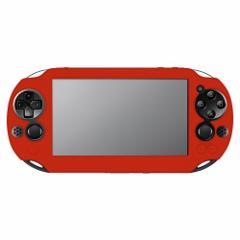 【新品】【PSVHD】Newシリコンカバーレッド for PlayStationVita[お取寄せ品]