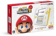 【新品】【3DSH】ニンテンドー2DS スーパーマリオパック【ホワイト&イエロー】[お取寄せ品]
