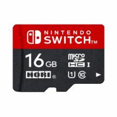 【新品】【NSHD】マイクロSDカード 16GB for Nintendo Switch[在庫品]