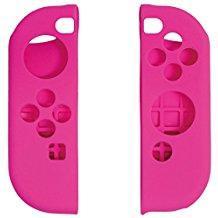 【新品】【NSHD】CYBER・シリコングリップカバー セット (SWITCH Joy-Con用) ピンク[お取寄せ品]