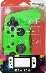 【新品】【NSHD】Switch Proコントローラ用 シリコンプロテクト (グリーン)[お取寄せ品]