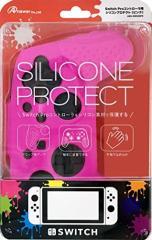 【新品】【NSHD】Switch Proコントローラ用 シリコンプロテクト (ピンク)[お取寄せ品]