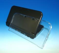 【新品】Newニンテンドー3DS LL専用 ハードカバークリア[在庫品]