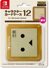 【11/30発売★予約】【新品】【NSHD】キャラクターカードケース12 for ニンテンドーSWITCH ダンボー[予約品]