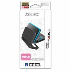 【新品】【3DSH】シリコンカバー for Newニンテンドー2DS LL[在庫品]