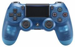 【新品】【PS4HD】ワイヤレスコントローラー(DUALSHOCK4)ブルー・クリスタル[お取寄せ品]