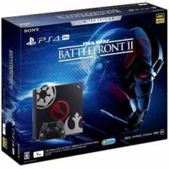 【新品】【PS4HD】PlayStation4 Pro Star Wars Battlefront II Limited Edition CUHJ-10019[在庫品]