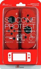 【新品】【NSHD】Switchジョイコン用 シリコンプロテクト(シグナルレッド)[お取寄せ品]