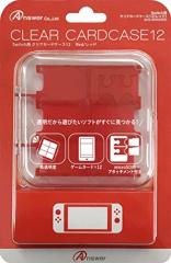 【02/28発売★予約】【新品】【NSHD】Switch用 クリアカードケース12(レッド)[予約品]