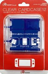 【02/28発売★予約】【新品】【NSHD】Switch用 クリアカードケース12(ブルー)[予約品]