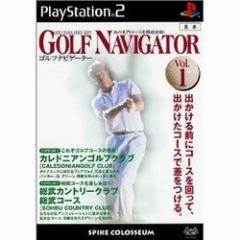 [100円便OK]【新品】【PS2】ゴルフナビゲーターVOL.1[お取寄せ品]
