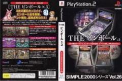 [100円便OK]【中古】【PS2】【SL2000】THEピンボール×3[お取寄せ品]