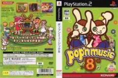 [100円便OK]【中古】【PS2】ポップンミュージック8[お取寄せ品]