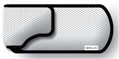 【新品】【PSPHD】ポータブルポーチ【ホワイトシルバー】(PSP用)[お取寄せ品]