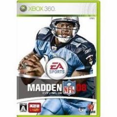[100円便OK]【新品】【Xbox360】マッデン NFL 08[お取寄せ品]